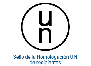 	Sello de la Homologación UN de recipientes