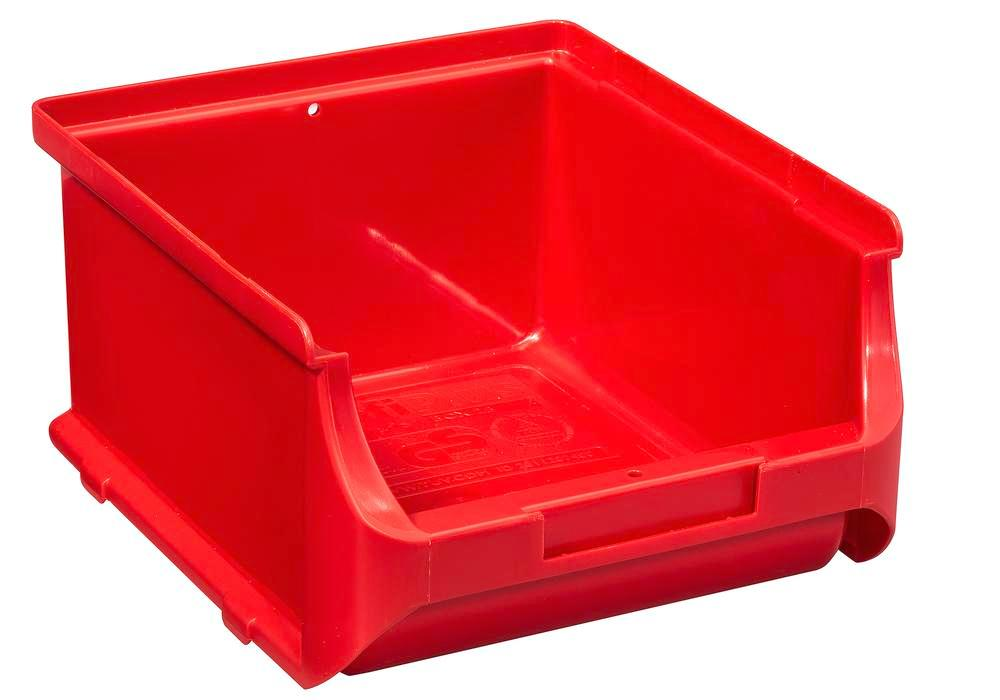 Cajas visualizables pro-line A2-B, PP, 135 x 160 x 82 mm, rojo, pack = 20 uds.